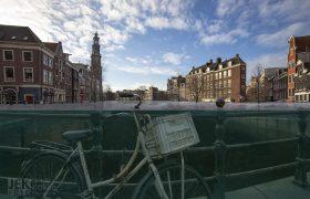 Nederland na de zeespiegelstijging - Amsterdam