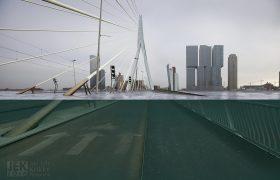 Nederland na de zeespiegelstijging - Rotterdam