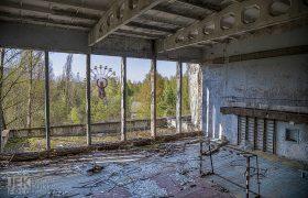 Tsjernobyl 12 Sporthal met reuzenrad